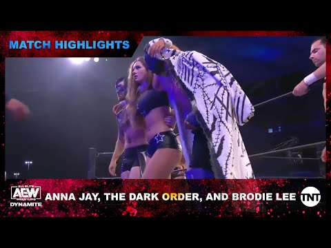 The Dark Order and Mr. Brodie Lee Show Up at AEW and Take Anna Jay