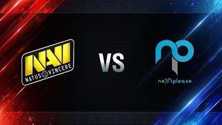 Natus Vincere vs NextPlease - day 3 week 2 Season I Gold Series WGL RU 2016/17