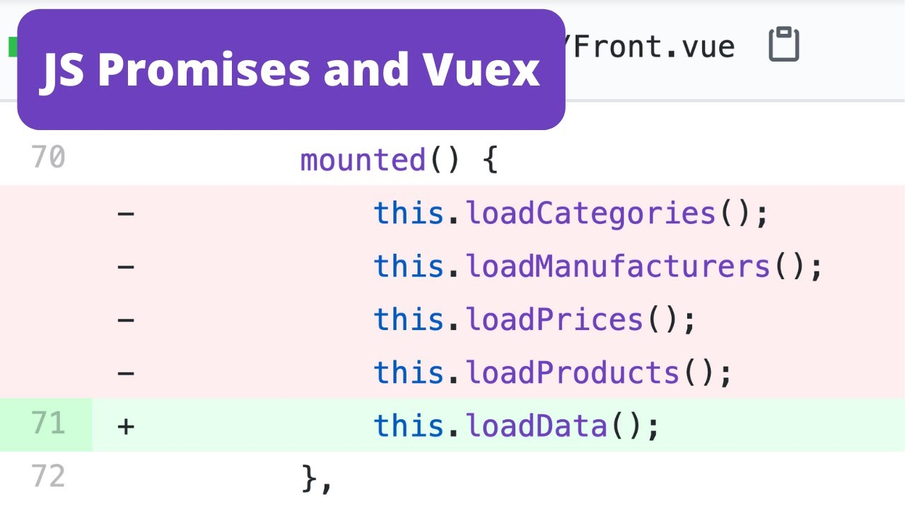 Vue.js Multiple API Calls: with Promises and Vuex