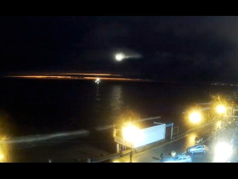 Крушение Ту-154 в Сочи Судно спасатель ЭПРОН работает в ночи Самолёты идут на посадку в Адлере
