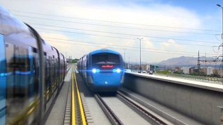 Tahran Hafif Raylı Transite 3d Animasyon