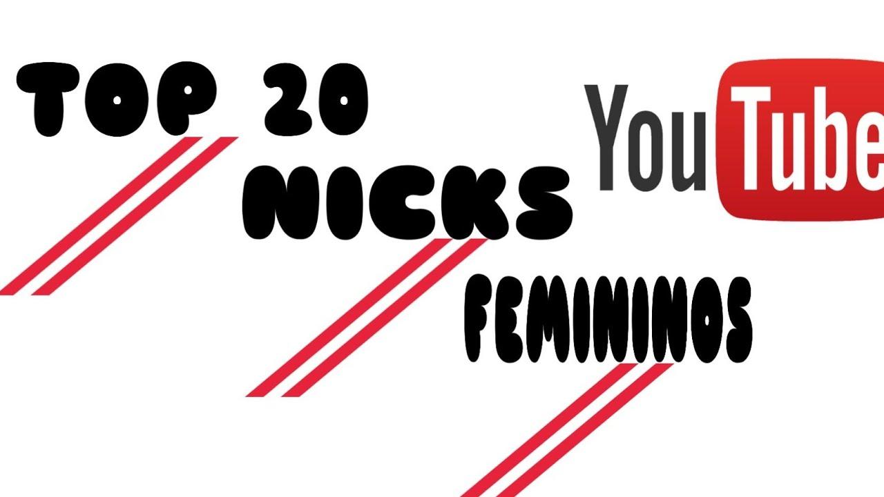 20 Nicks Nomes Femininos Para Free Fire Parte 2 Final Youtube