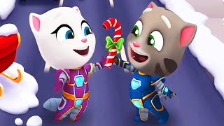 Talking Tom Gold Run / King Tom And Hyper Tom / Cartoon Games Kids TV