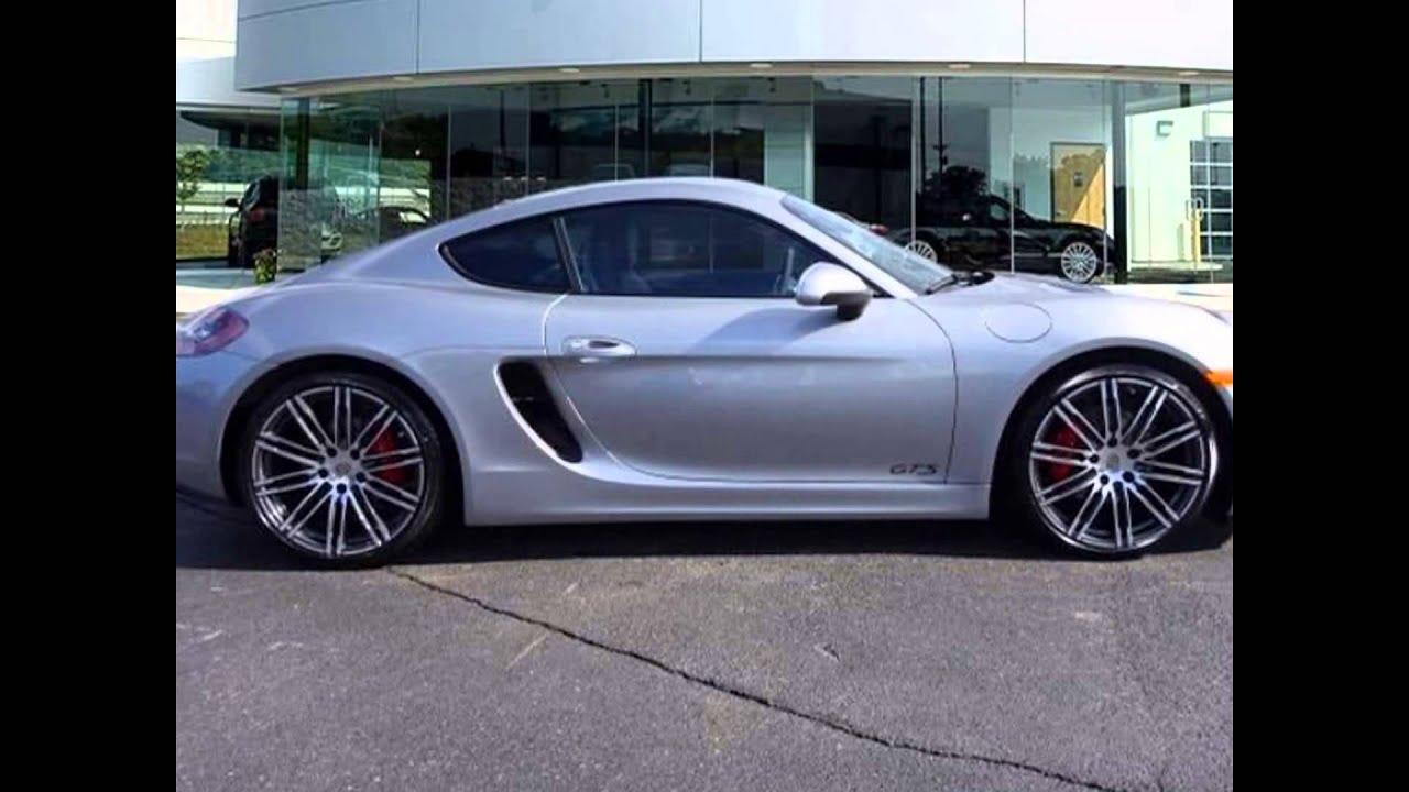 2016 Porsche Cayman GT Silver Metallic - YouTube