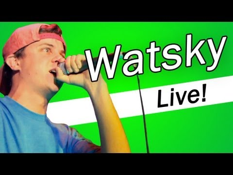 Watsky Live: Energy and Show Goes On