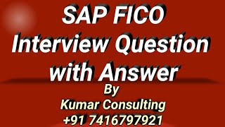 sap fico interview questions and answers_8 (Call @ +91 7416797921 for more details)