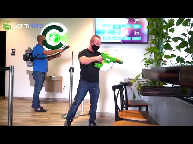 Germ Hero - Safely Disinfect your Home or Business