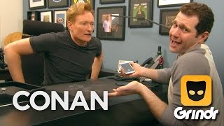 Conan & Billy Eichner Join Grindr - CONAN on TBS