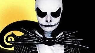 Jack Skellington - The Nightmare Before Christmas - Makeup Tutorial!