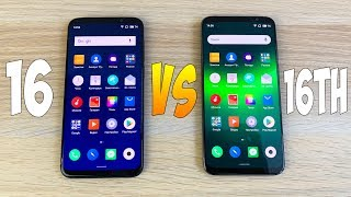 Meizu 16 vs Meizu 16th - SPEED TEST (snapdragon 710 vs 845)