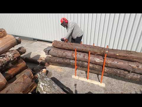 Bulk Log Sawhorse - Chainsaw Multiple Logs at Once // BLS-3H (400KG*)