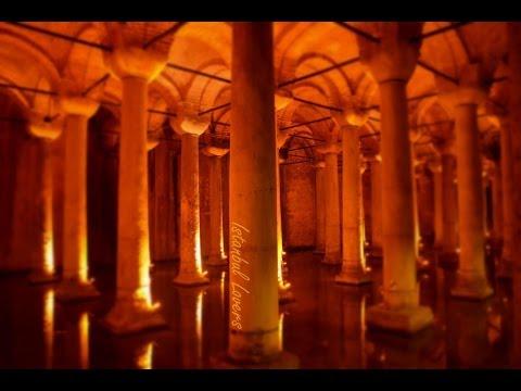 Turkey / Istanbul / yerebatan sarnıcı /  Basilica Cistern / القصر المغمور   .