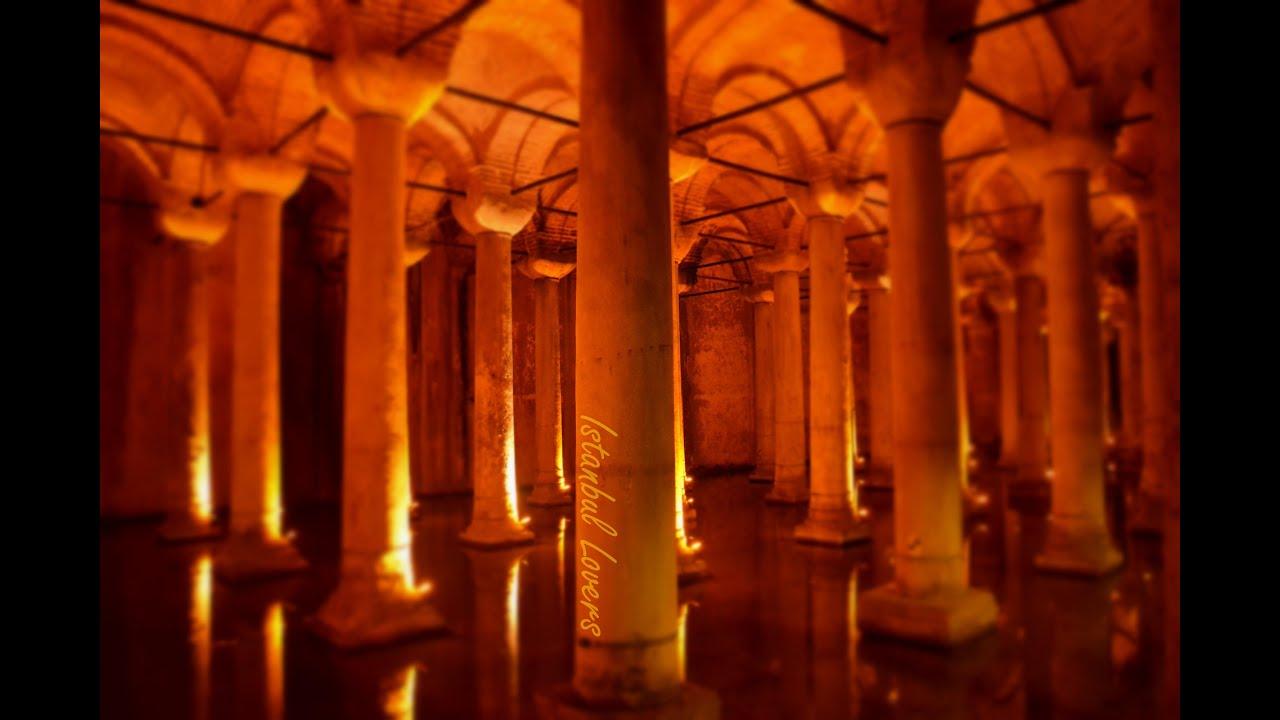 Turkey / Istanbul / yerebatan sarnıcı / Basilica Cistern / القصر المغمور . - ...