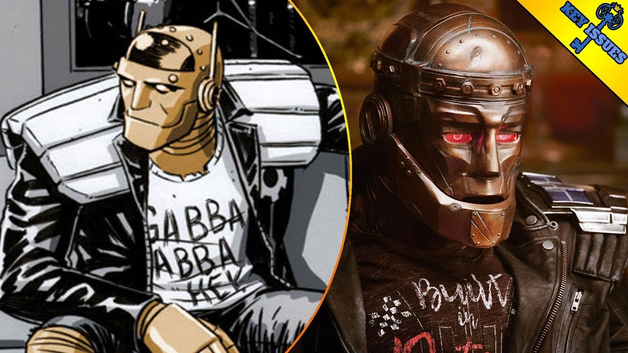 Comic Book Origins Robotman Doom Patrol Youtube