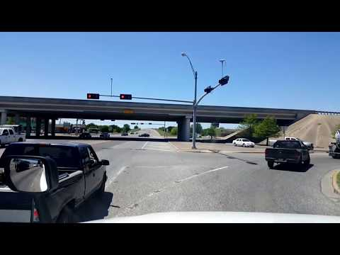 BigRigTravels LIVE!  Interstate 35W Northbound south of Fort Worth, Texas--April 26, 2018