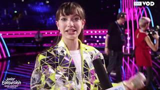 Eurowizja Junior 2019 – VIKI GABOR: Jestem taka szczęśliwa!