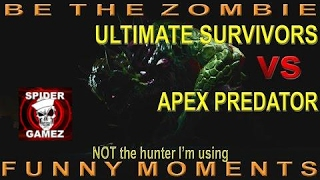 Dying Light - BE THE ZOMBIE - 2 Good Matches Funny Moments With Ultimate Survivors Apex Predator