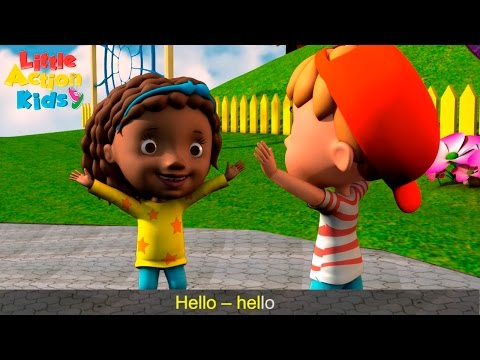 Hello Song for Kids 👋   Children Love to Sing Songs for Kids