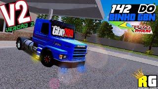 SKIN V2 DA 142 DO BINHO GBN PARA WORLD TRUCK DRIVING SIMULATOR(corrigido bugs e mais parecida)