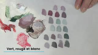 Le mélange des couleurs - partie 3  Les gris colorés