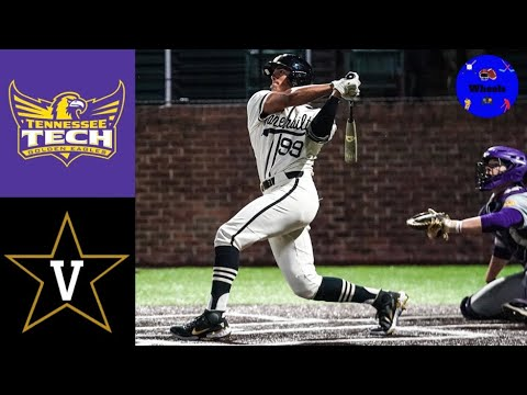 Tennessee Tech vs #1 Vanderbilt Highlights   2021 College Baseball Highlights