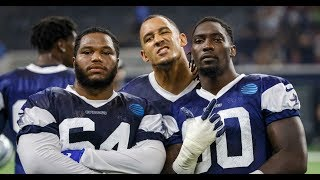Zeke Elliott upset/ D Law and crew close to being back/ Cowboys get a preseason win