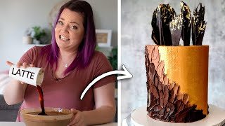 Turning a $5 LATTE into a Gourmet CAKE!
