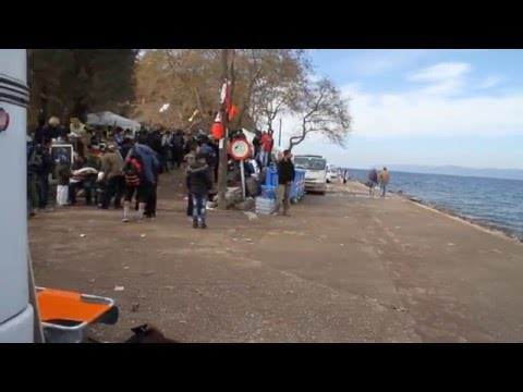 Syrian Refugee Interview - Lesbos Greece