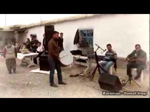 Karaman'da damat traşı ve milli oyun havası ÇUBUK