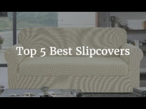 Top 5 Best Slipcovers 2019 - YouTube