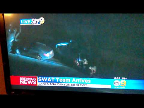 Santa Ana Canyon 91 Freeway Jam swap moved in