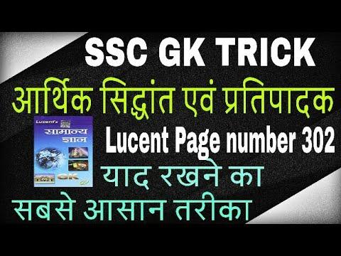 Economics gk trick in hindi / Economic theory and its exponents /आर्थिक सिद्धात और इसके प्रतिपादक