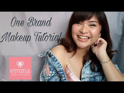ONE BRAND MAKEUP TUTORIAL - EMINA COSMETICS | Rachel Cynthia | Indonesia