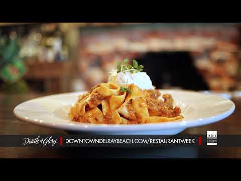 Death or Glory - Dine Out Downtown Delray Restaurant Week 2019