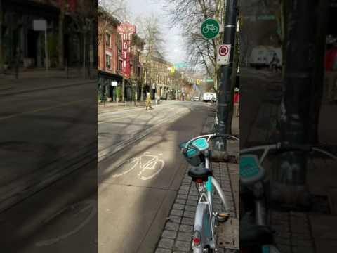 Multi-modal transportation in Vancouver