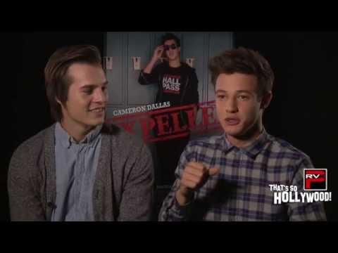 Is Cameron Dallas A GOOD KISSER?! He & Marcus Johns Decide At Expelled Movie Junket!