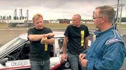 Antti Oksa Audi S2 super saloon