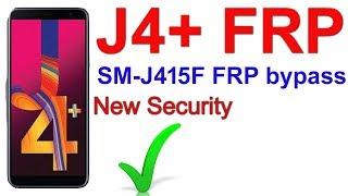 J4 plus FRP bypass | Galaxy J4+ FRP bypass Google account | J415F bypass google account | J415 FRP