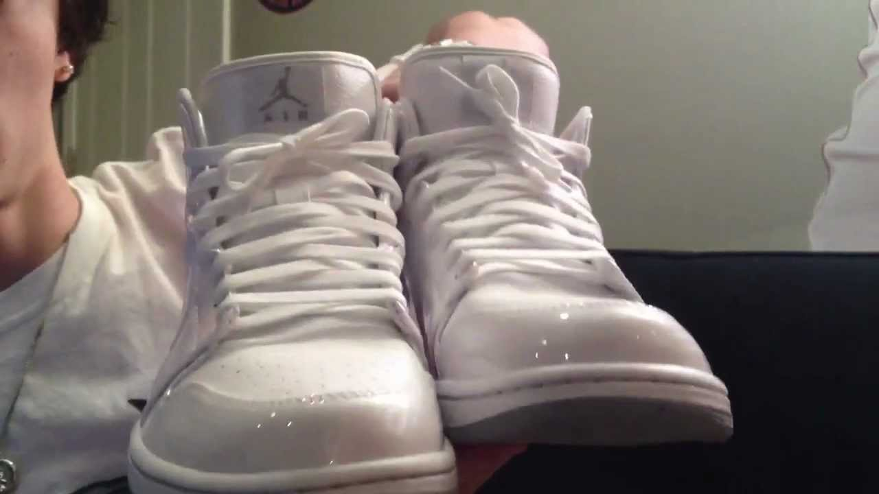 Air Jordan Retro 1 Phat White - YouTube fe82f40707
