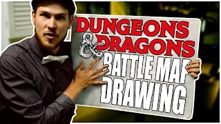 Draw an EPIC dungeons and Dragons Map