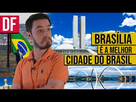 Por que BRASÍLIA é a MELHOR CIDADE do Brasil? [PORTUGUÊS | INGLÊS]