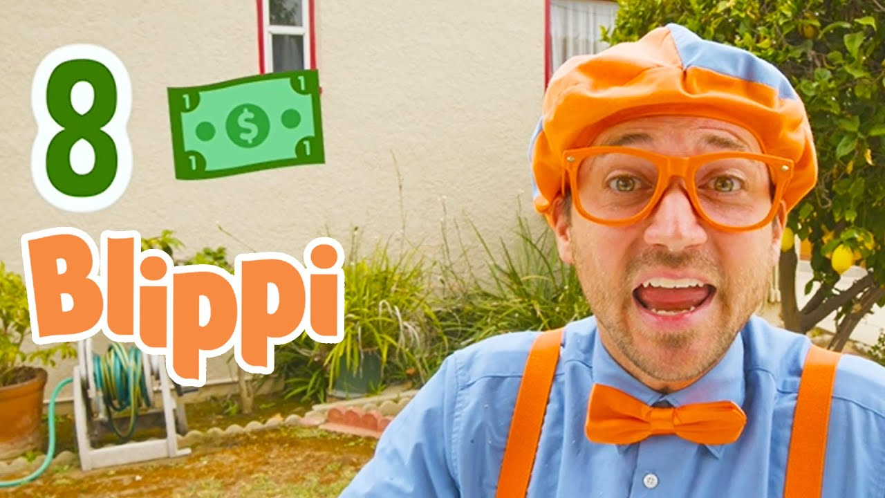 Learn Maths With Blippi   Numbers and Counting For Kids   Educational Videos For Children