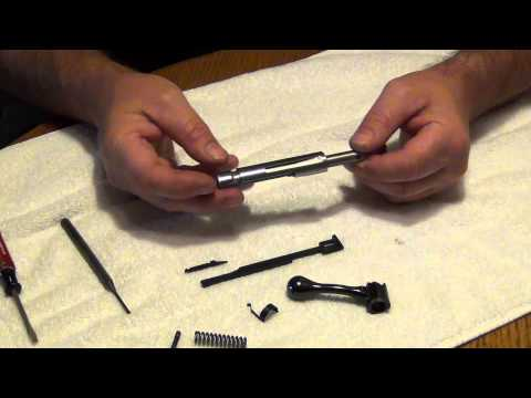 RUGER American Rimfire 22LR Bolt Disassembly-reassembly