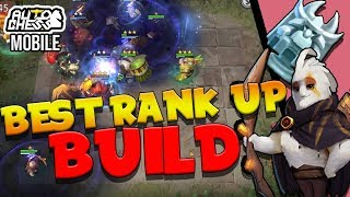 Use this BUILD to climb to KING! Best build to rank up 🔥 | Auto Chess Mobile