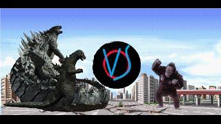 Godzilla vs King Kong Sprite Animation