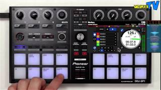 Pioneer DDJ-SP1 Serato DJ Controller Demo & Walkthrough