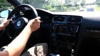 Prueba Volkswagen Golf R VII (7) en castellano