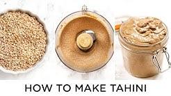 HOW TO MAKE TAHINI ‣‣ with 4 Tahini Recipes