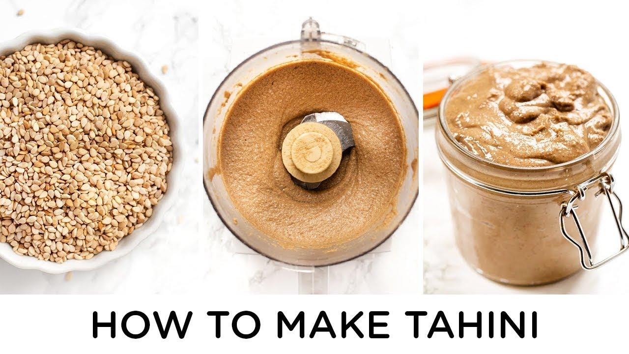 HOW TO MAKE TAHINI ‣‣ with 11 Tahini Recipes