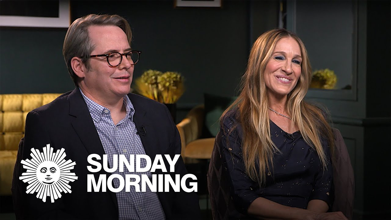Matthew Broderick and Sarah Jessica Parker Talk PLAZA SUITE ...